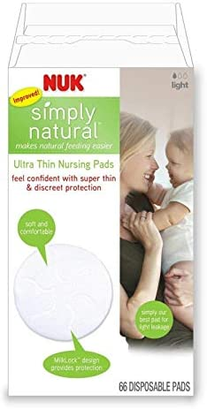 NUK Ultra Thin Disposable Nursing Pads 66 Count Pack of 6 product image