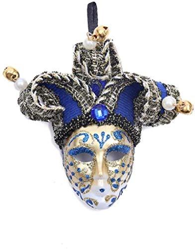 LMPENG Imán para nevera, diseño de máscara de Venecia, campana, payaso, decoración de nevera, imán magnético para decoración del hogar, r-M