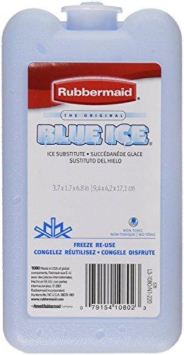 Rubbermaid 1080-16-220 Blue Ice Block Module Ice Pack (pack of 3)