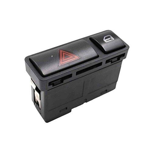 ben-gi Para 3 Serie de conmutadores de Bloqueo E46 61318368920 Peligro Warnng luz Flash de luz de Emergencia botón de Interruptor pulsador de Encendido/Apagado