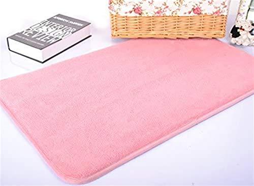 Leifeng Tower Alfombra de lujo para mascotas cómoda y suave para perros, cama grande para mascotas, alfombrillas multifuncionales para cualquier ocasión (S: 50 x 80 x 2 cm, rosa) para mascotas