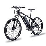 Baradine Bicicleta eléctrica de montaña 350W Bicicleta de montaña con Motor 48V 10.5Ah Ebike Bicicletas eléctricas BMX Bicicletas eléctricas de Viaje
