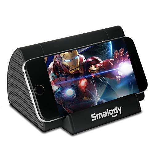 【最新版】 スマホ スピーカー iphone スピーカー メガホンスマホを置くだけ 音増幅スピーカー 2in1 携帯電話卓上スタンド 卓上 デスク 充電スタンド 軽量 コンパクト ポータブルスマートフォンスタンド ラウドスピーカー スタンド iPhone 12/iPhone 12 mini/iPhone 12 Pro/iPhone 12 ProMaxスタンド 折りたたみ式 4~7.9インチのiPhone Androidスマホ タブレットに適用 スマホホルダー ABS素材
