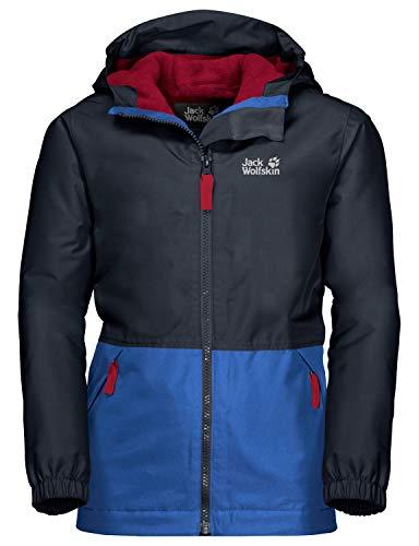 Jack Wolfskin Kinder Snowy Days Jacket Kids Wetterschutzjacke, Night Blue, 152