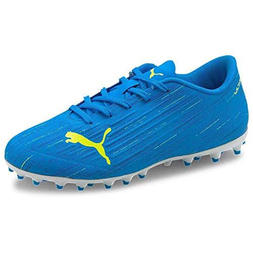 Puma Ultra 4.2 MG Niño, Bota de fútbol, Nrgy Blue-Yellow Alert, Talla 1.5 UK (34 EU)