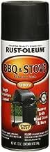 Rust-Oleum Automotive 249310 12-Ounce BBQ Black Spray, Black