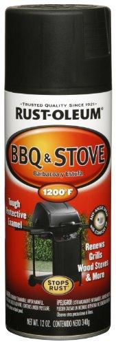 Rust-Oleum Automotive 249310 12-Ounce BBQ Black Spray  Black