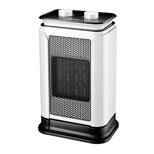 YYHXX Stufetta Elettrica,1500W 3s Riscaldamento Termoventilatore Elettrico Ceramica per Bagno Stanza Ufficio con Oscillazione E Ribaltamento Spegnimento Termostato Regolabile