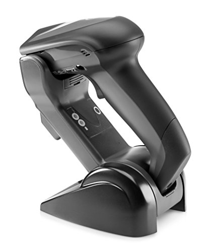 HP Wireless Bluetooth 1D 2D Barcode Scanner with USB Kit and Charging Base Station, E6P34AA 3d barcode scanner