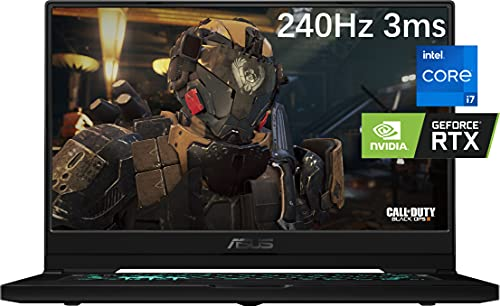2021 Newest ASUS TUF Dash 15.6' Gaming Laptop, 240Hz FHD, Intel Core i7-11370H, Nvidia RTX 3070, 16GB DDR4 RAM, 1TB NVMe SSD, Thunderbolt 4, WiFi 6, VR Ready, HDMI, Win10, Ghost Manta Gaming Mouse