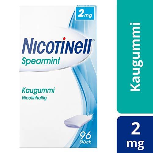 NICOTINELL Kaugummi Spearmint 2 mg 96 St Kaugummi