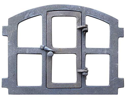 Stallfenster Fenster zum Öffnen Scheunenfenster grau Eisenfenster Antik-Stil