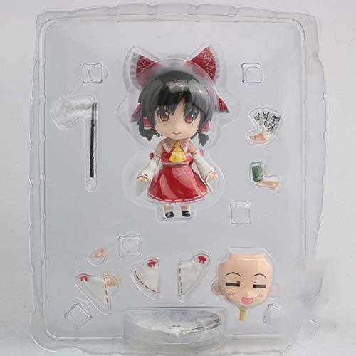 Regalo Modelo de Anime Touhou Project: Reimu Hakurei Nendoroid Figura de acción Modelo Juguetes Regalos de San Valentín para Hombres y Mujeres