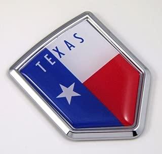 Texas TX USA State Flag Car Chrome Emblem Decal Sticker Bike Laptop Boat 3dd Sticker Badge