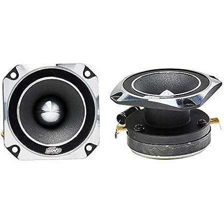 "Audio Legion High Compression Chrome Bullet Super Tweeters - Car Speakers - Car Tweeters - Car Audio (3.5"" 300W - ALT46)"