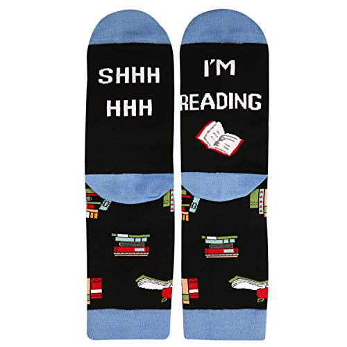 Shhhh…. I'm Reading Socks