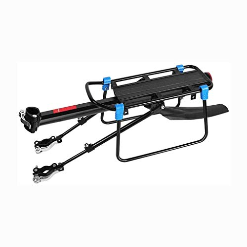 MNBV Bicycle Rack Retractable Aluminum Alloy Bike Luggage Rack Bicycle Pannier Luggage Cargo Carrier Rack for Mountain Bike Road Bike