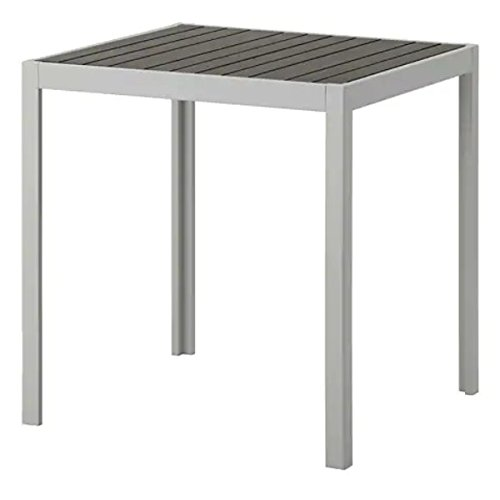 SJÄLLAND IKEA Tisch in grau; für außen; (71x71x73cm)