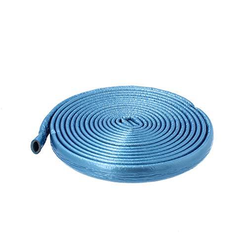 Isolierschlauch Isolierung Heizungsrohre Isolierfolie 18 mm / 4 mm Blau | Rohrisolierung Rohr Schaumstoff Rund Heizungsrohr PE PEX Fußbodenheizung Wasserleitung Zentralheizung