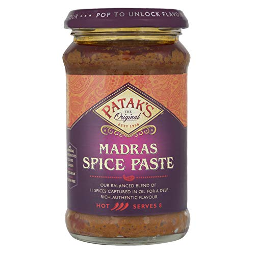 Patak's Madras Hot Curry Paste 283G