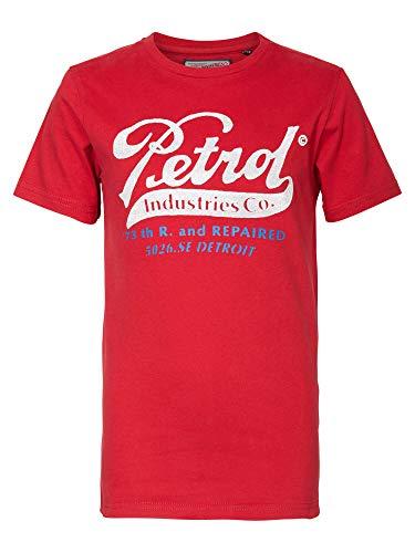 T-Shirt mit Petrol-Aufdruck