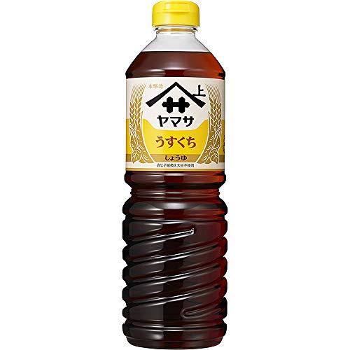 Yamasa Usukuchi Shoyu - Light Color Japanese Soy Sauce, 1 Liter/34 Ounce, Imported from Japan