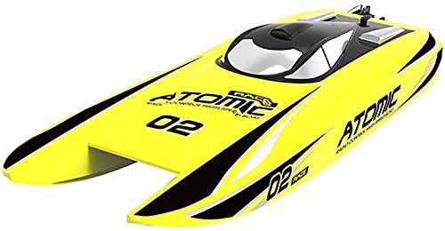 Barca a remota ad alta velocità di 40 miglia di controllo ad alta velocità GRANDE Racing RC Brushless Boat pronto a correre per adulti bambini