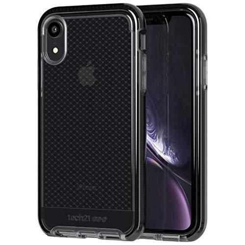 Tech21 Evo Check Schutzhülle für Apple iPhone XR - Rauchig/Schwarz