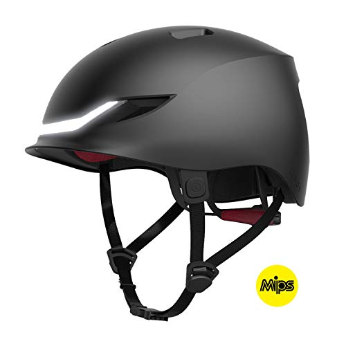 Lumos Street MIPS Helm Charcoal Black 2020 Fahrradhelm