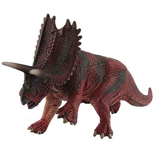 Luccase PVC Dinosaurier Modell Spielzeug Kinder Pentaceratops Modell Geburtstags Geschenke Dinosaurierfiguren für Partyartikel Dekorationen Belohnungen