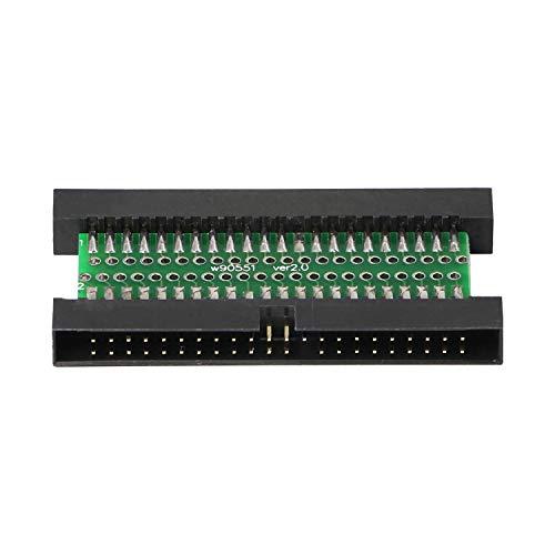 Adaptador de disco duro IDE de 44 pines macho a macho, para ordenador portátil IDE de 2,5 pulgadas, 44 pines