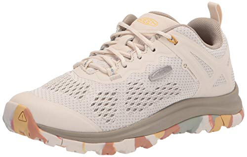 KEEN Women's Terradora 2 Vent Low Height Low Height Hiking Shoe, Brick Dust/Birch, 8 M (Medium) US