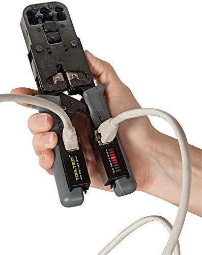 Sricam Italia obasecurity crimpadora alicates Plug a, crimpadora Cable de Red LAN Ethernet Cat6/5con Tester Test