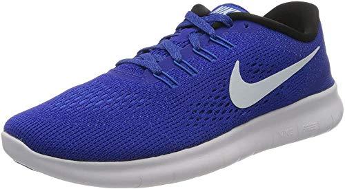 Nike Women's WMNS Free Rn Training Running Shoes, Blue (Concord/Hyper Cobalt/Photo Blue/White), 6 UK 40 EU