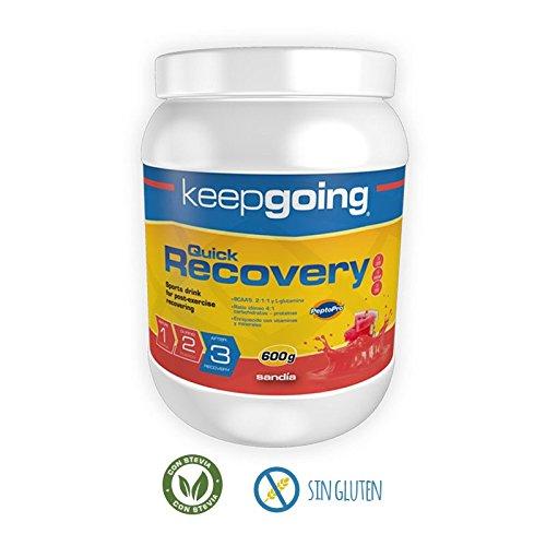 Keepgoing Quick Recovery · Bebida recuperadora · Bote de 600g. Sandía.