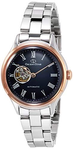 [オリエント時計] 腕時計 オリエントスター クラシック セミスケルトン Classic Semiskeleton 500本 MOVING BLUE RK-ND0008L レディース シルバー