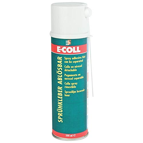 Sprühkleber, ablösbar 500 ml E-COLL | 4317784514323