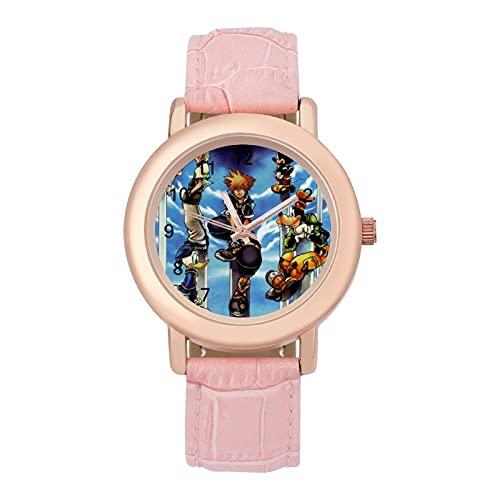 キングダム ハーツ3 腕時計 おしゃれ クラシック 女性 時計リストバンド型 腕時計 シンプル レディース 腕時計 レディースウォッチ レディース腕時計 シンプル おしゃれ 彼女へのプレゼント