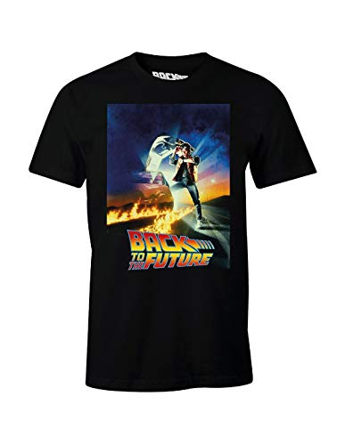 Zurück in die Zukunft T-Shirt Retour vers Le Futur - Poster