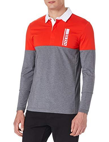 Photo of BOSS Men's Plisy 1 10224280 01 Polo Shirt, Medium Grey31, XL