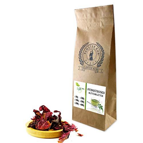 VITAIDEAL VEGAN® Pfingstrosenblütenblätter ganz (Pfingstrose, Paeonia officinalis) 300g, rein natürlich ohne Zusatzstoffe.
