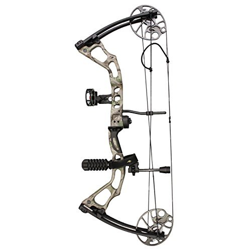 SAS Feud 70 Lbs Compound Bow (Camo with Starter Accessories)