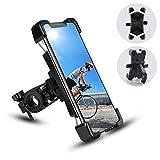 Support Téléphone de Vélo Moto, Support Smartphone de VTT Guidonavec 360° Rotation Installation...