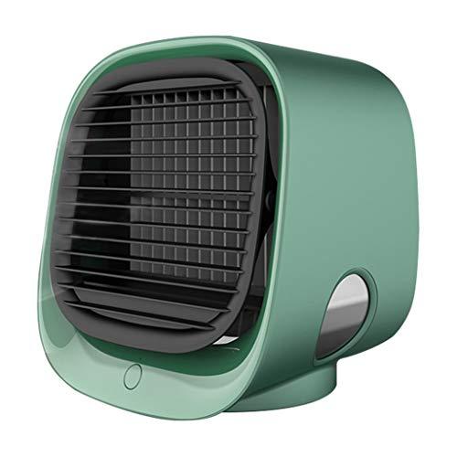 SIMNO JIAHONG Mini Fans USB Aire Cooler Fan Mini Desktop Air Acondicionador de Aire con luz Nocturna Mini USB Agua Agua Ventilador Humidificador Purificador Multifunción Verano (Color : As pic5)