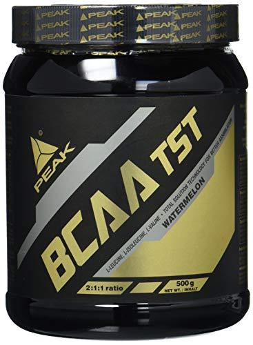 Peak BCAA TST, (Total Solution Technology) mit Vitamin B-Komplex, Watermelon, 1er Pack (1 x 500 g)