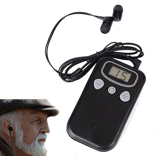Audífonos Atomic Beam Magic Ear, Pantalla Digital Audífonos Intensificador De Sonido, Ancianos Pérdida Auditiva Megáfono Mágico Dropship