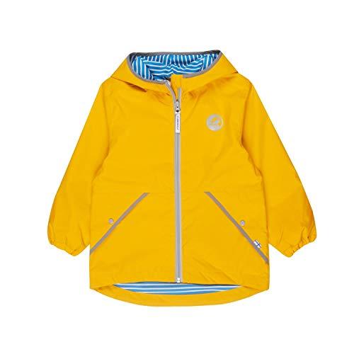 Finkid Puuskiainen Gelb, Kinder Regenjacke, Größe 120-130 - Farbe Yellow - Storm