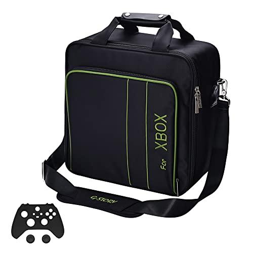 G-STORY Bolsa Xbox, Maleta Xbox, Xbox Storage Bolso con Correa de Hombro Ajustable Bolsa...