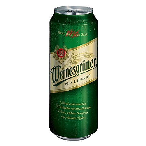 Wernesgrüner Pils Legende Pils Dose, EINWEG (1 x 0.5 l)