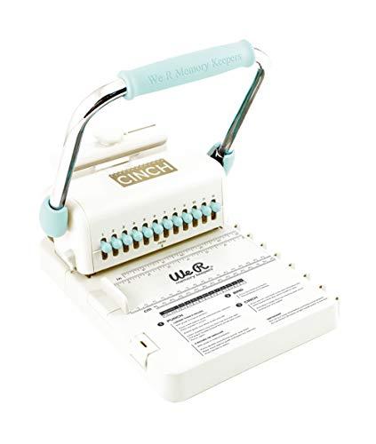 Rayher 79969000 Encuadernadora Cinch de We R Memory Keepers, perfora y encuaderna, adecuada para Scrapbooking y álbumes